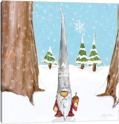 Winter Gnome II Canvas Art Print