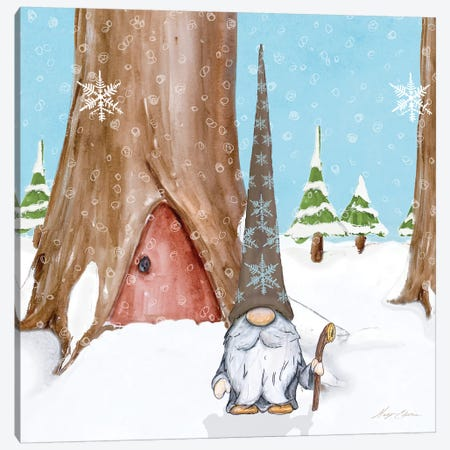 Winter Gnome IV Canvas Print #HED23} by Hugo Edwins Canvas Wall Art