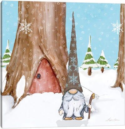 Winter Gnome IV Canvas Art Print