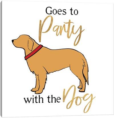 Puppy Positive III Canvas Art Print