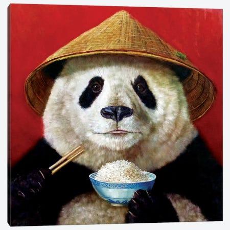 Panda Canvas Print #HEF10} by Lucia Heffernan Canvas Art Print