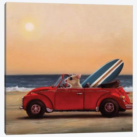 Beach Bound Canvas Print #HEF112} by Lucia Heffernan Canvas Wall Art