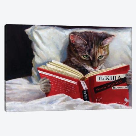 Late Night Thriller 3-Piece Canvas #HEF121} by Lucia Heffernan Canvas Art Print