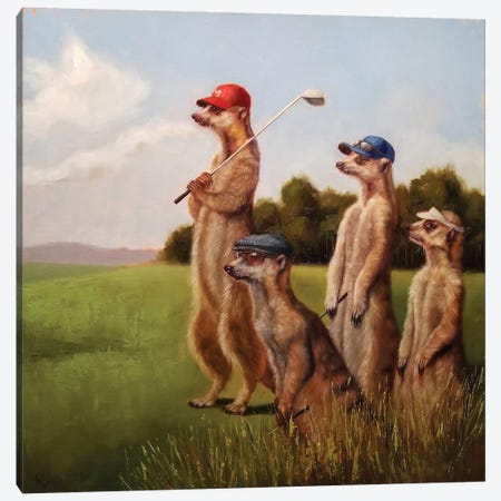 Men's Day Canvas Print #HEF122} by Lucia Heffernan Art Print