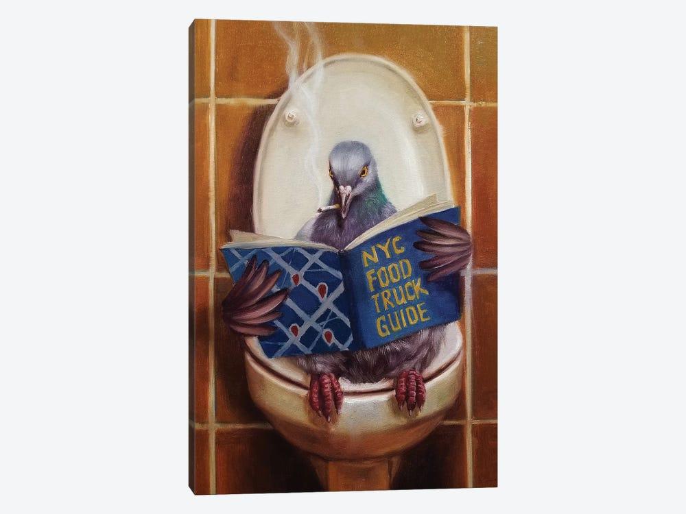 Stool Pigeon by Lucia Heffernan 1-piece Canvas Art