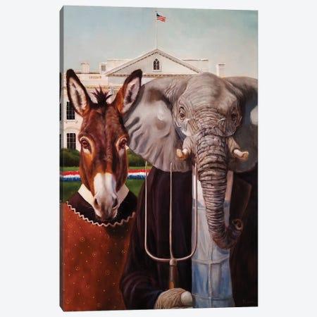 Washington Gothic Canvas Print #HEF127} by Lucia Heffernan Canvas Art