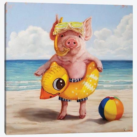 Baked Ham Canvas Print #HEF135} by Lucia Heffernan Canvas Art Print