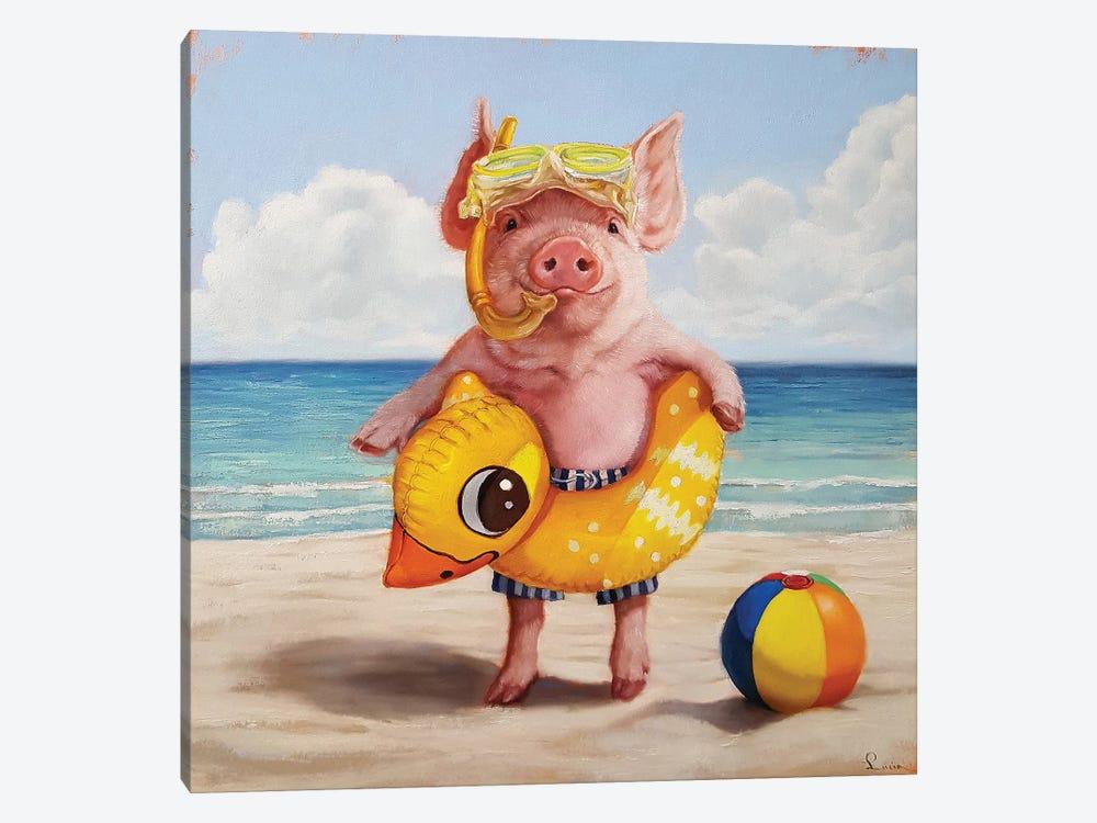 Baked Ham by Lucia Heffernan 1-piece Canvas Wall Art