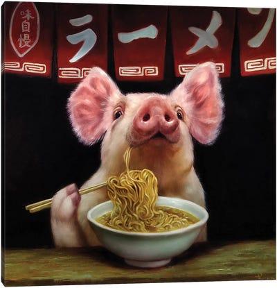 Oodles of Noodles Canvas Art Print