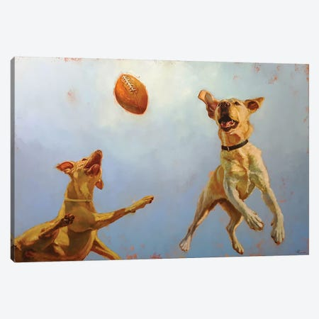 Game Point Canvas Print #HEF166} by Lucia Heffernan Canvas Artwork
