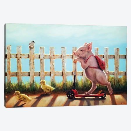 Summer Stroll Canvas Print #HEF173} by Lucia Heffernan Canvas Artwork