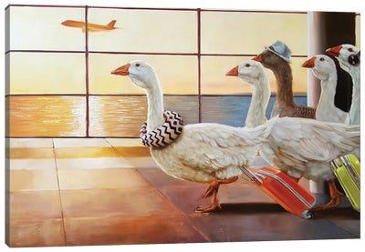First Class Migration Canvas Art Print