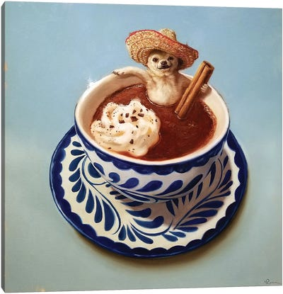 Mexican Hot Chocolate Canvas Art Print