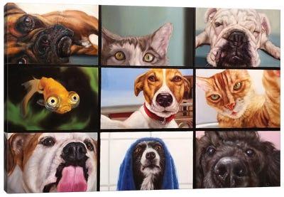 Animal Zoom Canvas Art Print