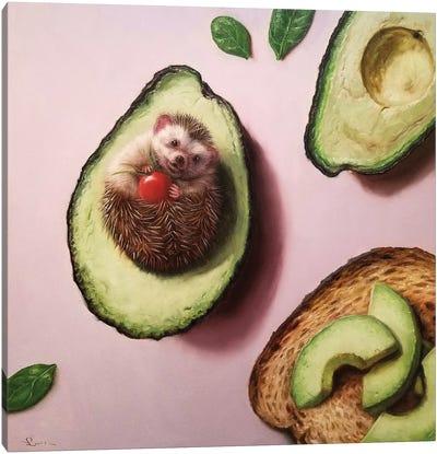 Avocado Toast Canvas Art Print