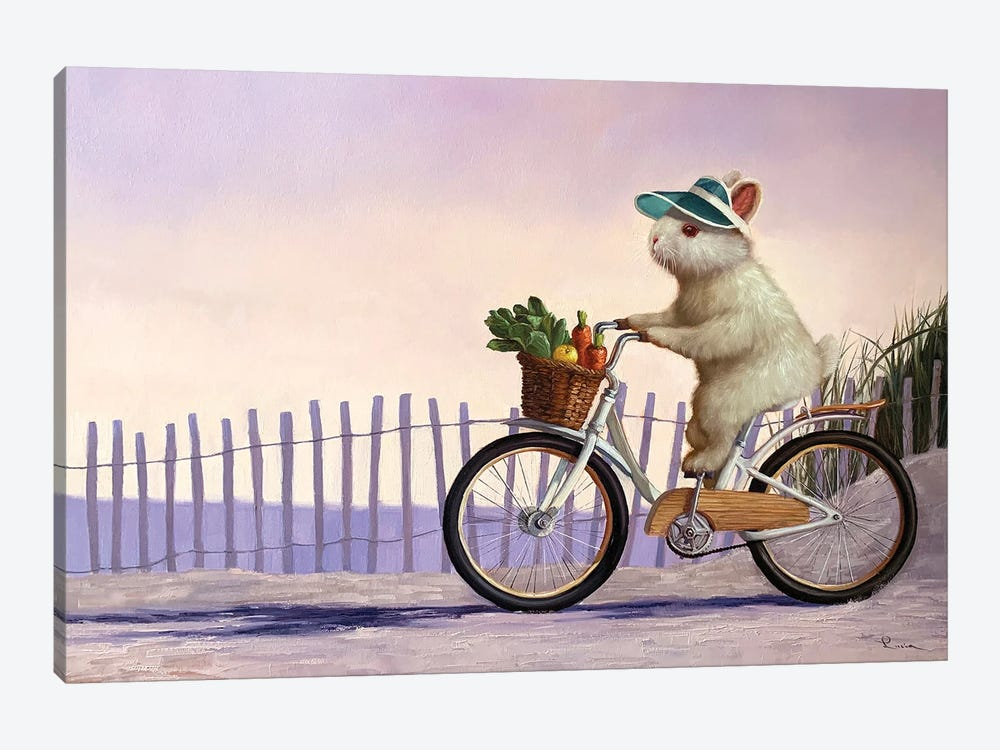 Beach Bunny by Lucia Heffernan 1-piece Canvas Art
