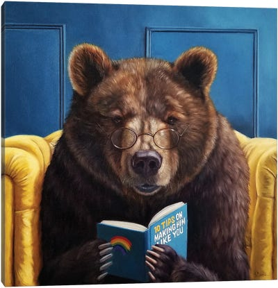 Bear Trap Canvas Art Print