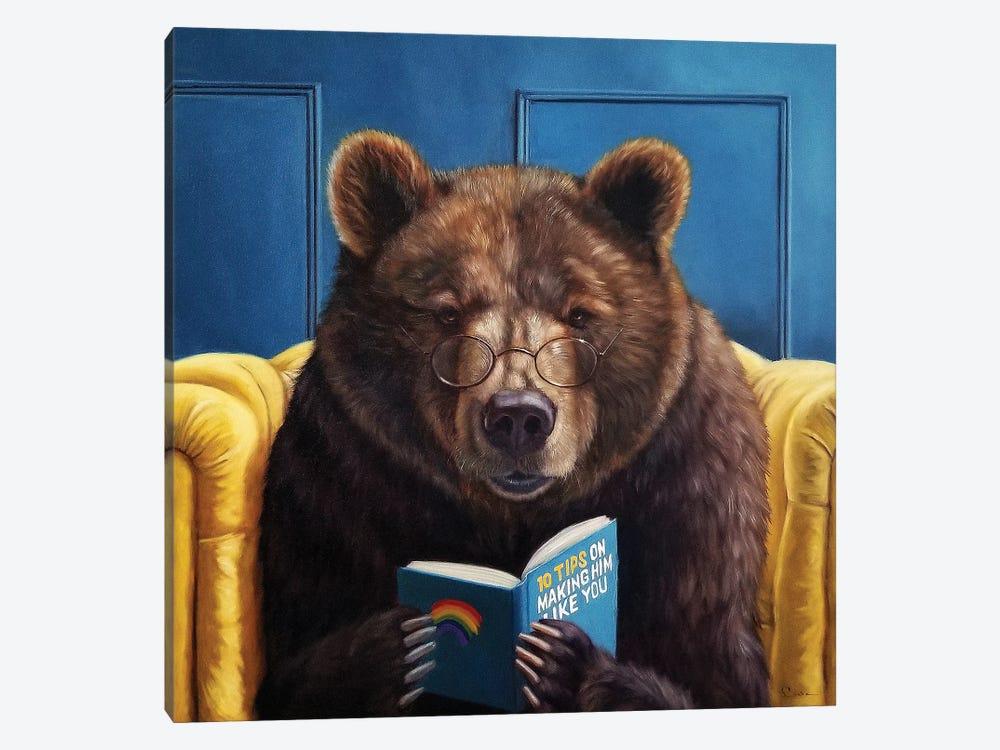 Bear Trap by Lucia Heffernan 1-piece Canvas Print