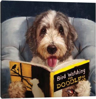 Ornithology For Doodles Canvas Art Print