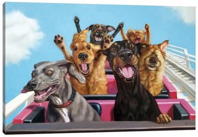 Thrill Seekers Canvas Art Print