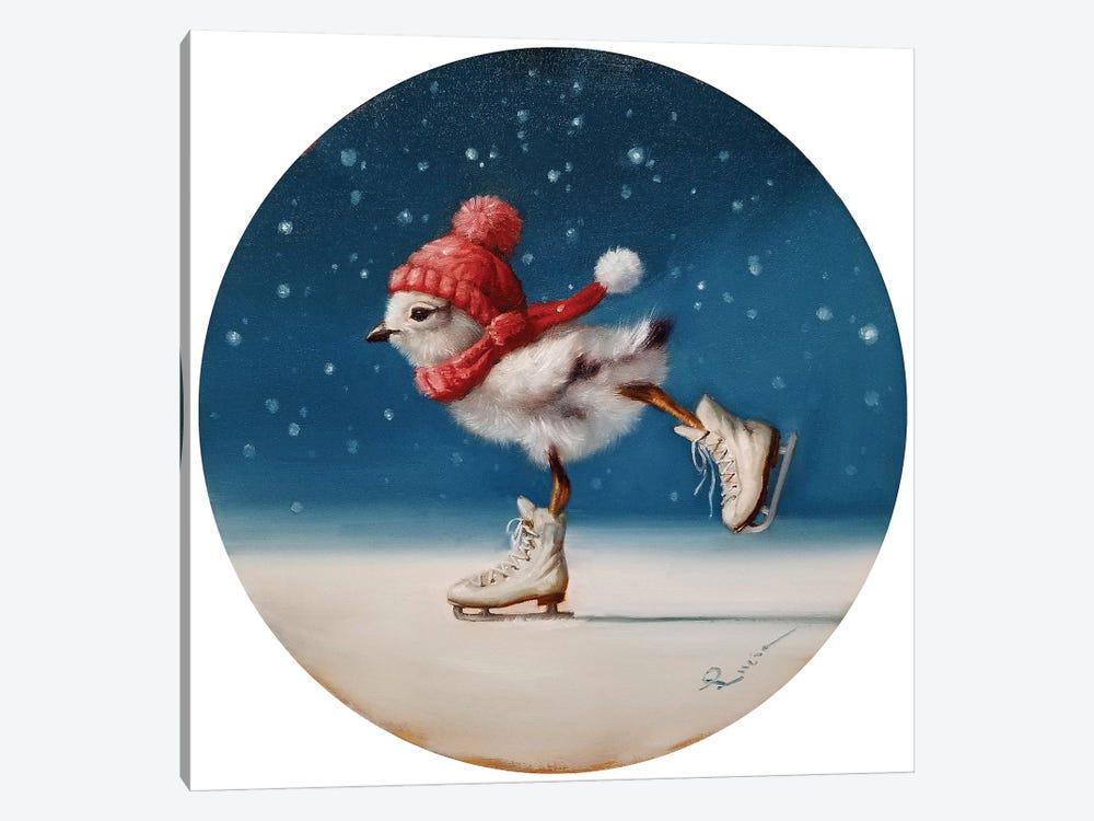 Chickie Yamaguchi by Lucia Heffernan 1-piece Canvas Art