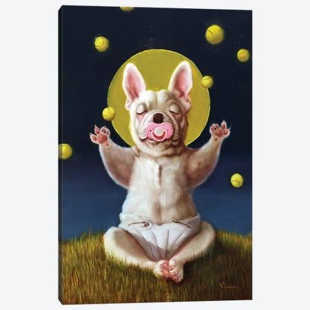 Puppy Dreams Canvas Print #HEF221} by Lucia Heffernan Canvas Wall Art