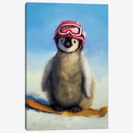 Snowboard Chic Canvas Print #HEF222} by Lucia Heffernan Canvas Artwork