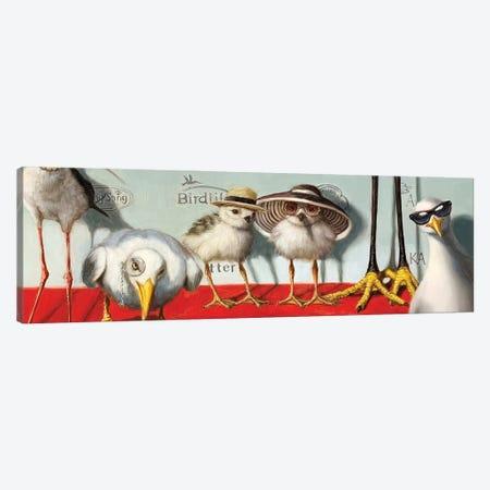 Hampton Chicks Canvas Print #HEF228} by Lucia Heffernan Canvas Wall Art