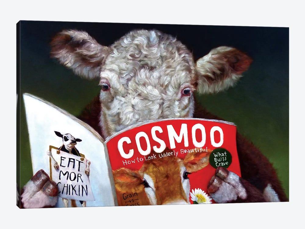 Cow Tips by Lucia Heffernan 1-piece Canvas Art Print