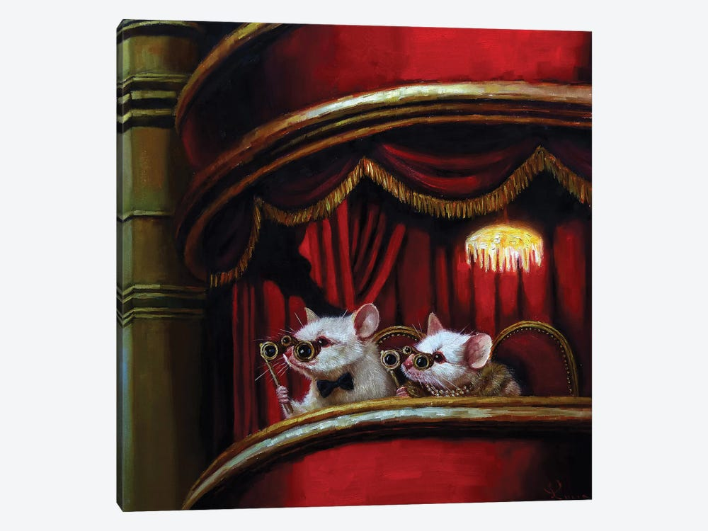 Die Fledermaus by Lucia Heffernan 1-piece Canvas Artwork