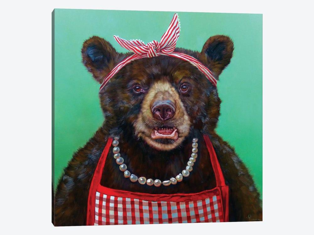 Mama Bear by Lucia Heffernan 1-piece Canvas Art