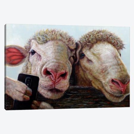 Selfie Canvas Print #HEF36} by Lucia Heffernan Canvas Art