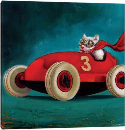 Speed Racer Canvas Art Print