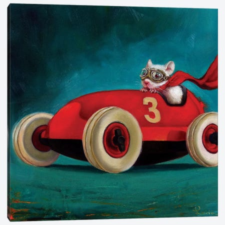 Speed Racer Canvas Print #HEF38} by Lucia Heffernan Canvas Print