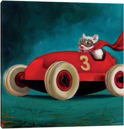 Speed Racer Canvas Art Print