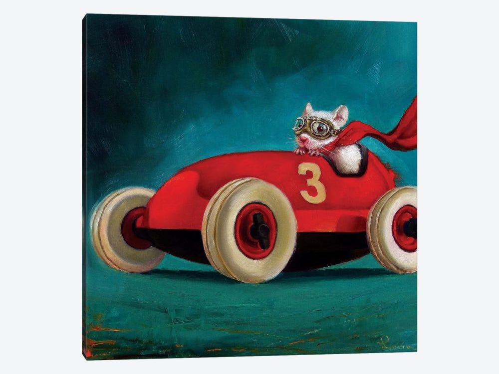 Speed Racer by Lucia Heffernan 1-piece Art Print