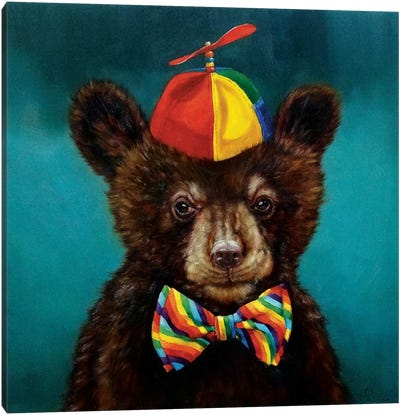 Baby Bear Canvas Print #HEF3
