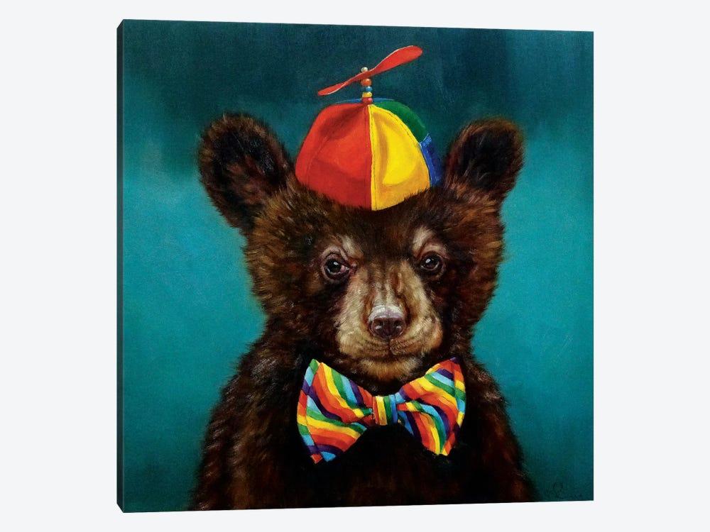 Baby Bear by Lucia Heffernan 1-piece Canvas Art Print