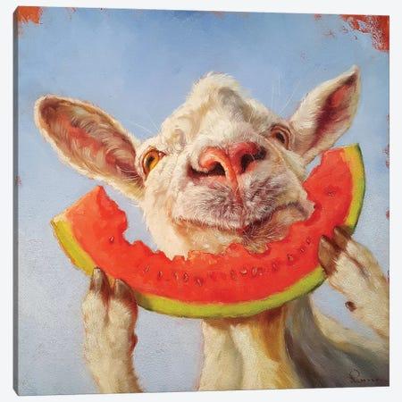 Summer Treat Canvas Print #HEF40} by Lucia Heffernan Canvas Art