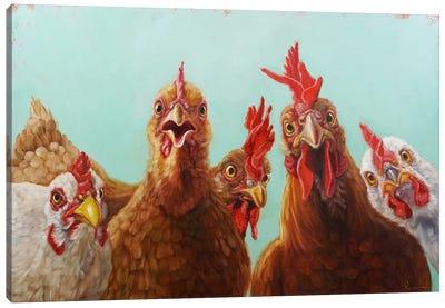 Chicken For Dinner Canvas Art Print