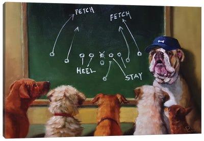 Game Plan Canvas Print #HEF5
