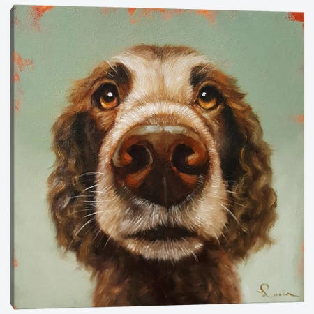 Follow Your Nose XIV Canvas Print #HEF65} by Lucia Heffernan Art Print