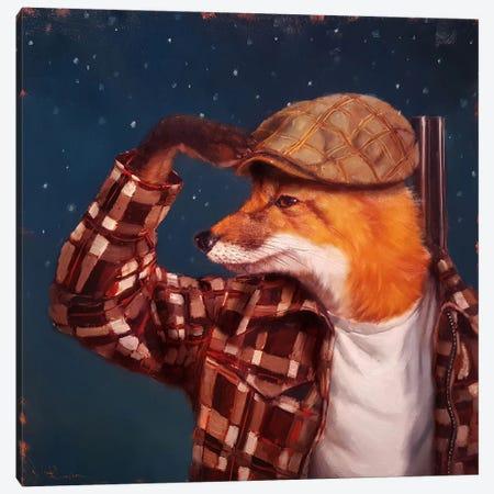 Fox Hunt Canvas Print #HEF66} by Lucia Heffernan Canvas Art Print