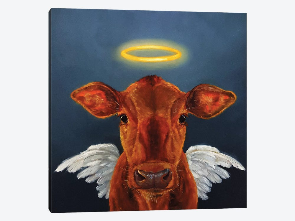Holy Cow 1-piece Canvas Art
