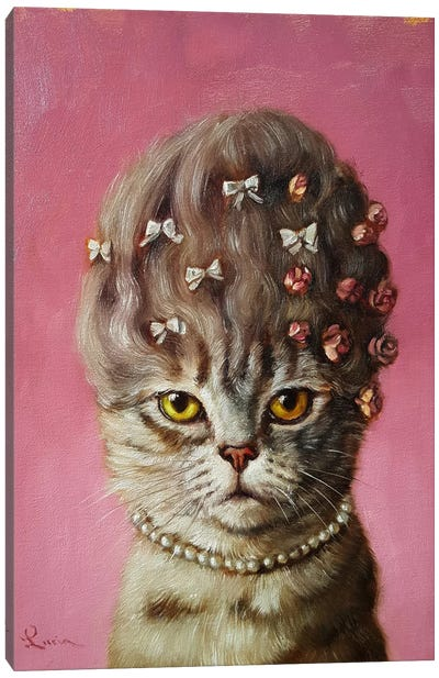 Marie Catoinette Canvas Art Print