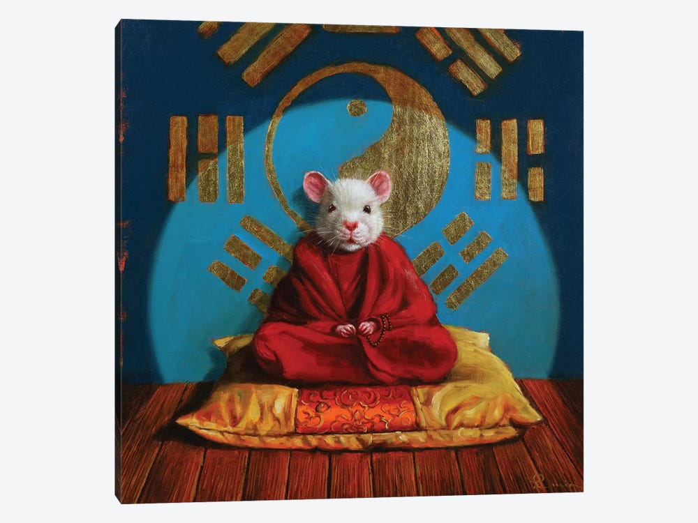 Inner Peace by Lucia Heffernan 1-piece Canvas Art