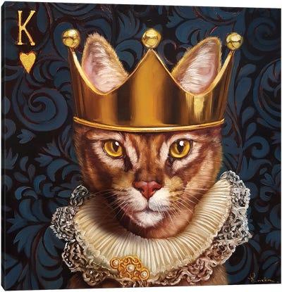 King Of Hearts Canvas Art Print