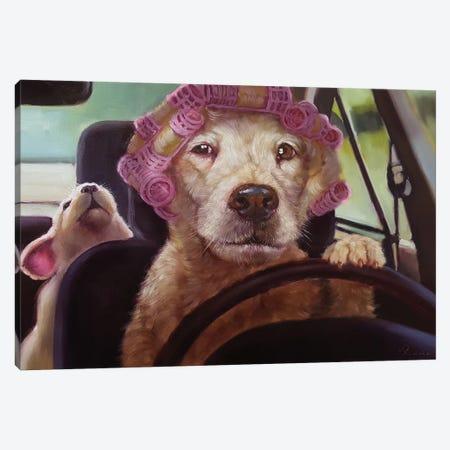 Mommy Chauffeur Canvas Print #HEF90} by Lucia Heffernan Canvas Print