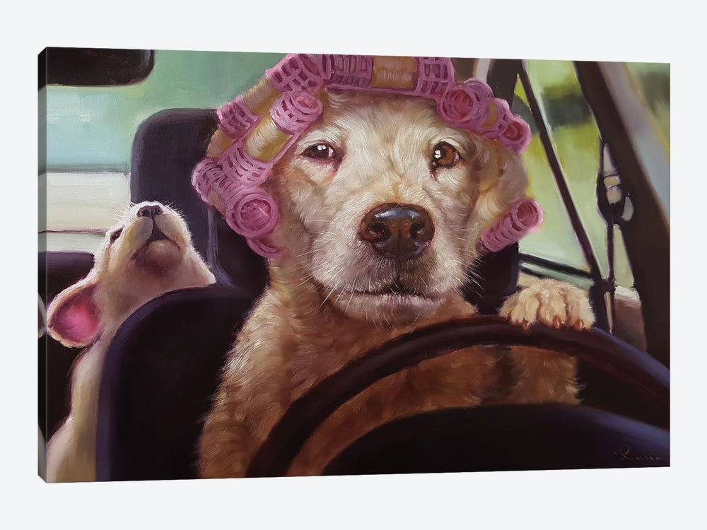 Mommy Chauffeur by Lucia Heffernan 1-piece Art Print