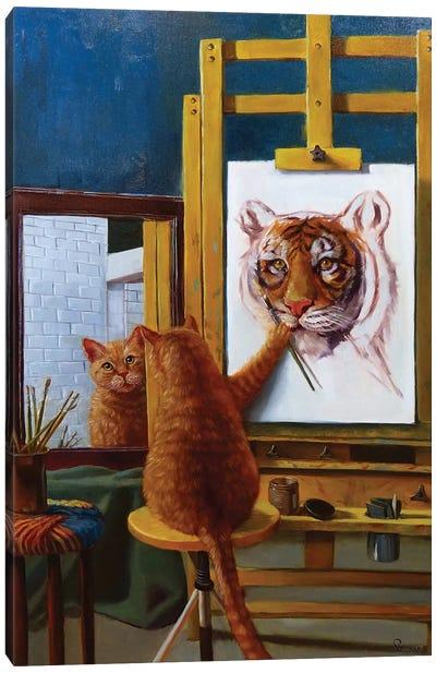 Norman Catwell Canvas Art Print
